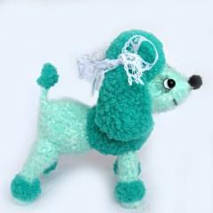 пудель амигуруми схема вязания игрушки