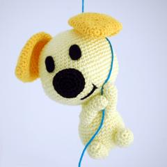 схема вязаной игрушки собаки
