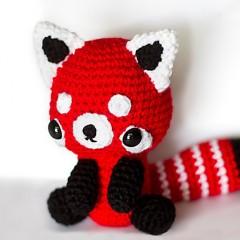 схемы вязания игрушек красная панда крючком