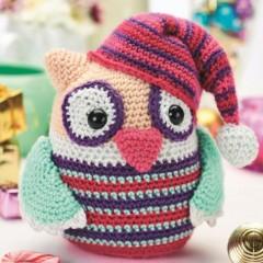 вязание игрушек амигуруми сова крючком
