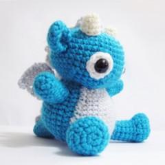 дракон крючком схема вязания игрушки амигуруми
