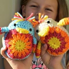 игрушки амигуруми крючком схемы цыпленок