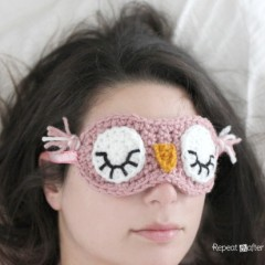 маска сова амигуруми крючком схема