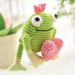 амигуруми лягушка схема вязания игрушки крючком