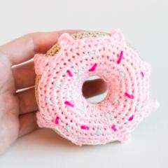 амигуруми пончик крючком схема вязания