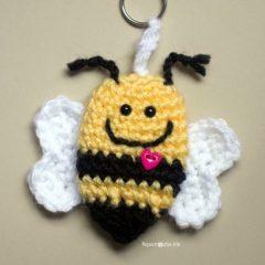 амигуруми пчела схема вязаной игрушки