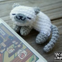 амигуруми котик крючком схема вязаной игрушки