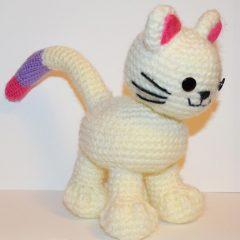 амигуруми кошка схема вязаной игрушки