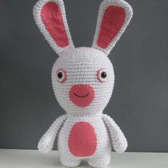 амигуруми кролик крючком схема