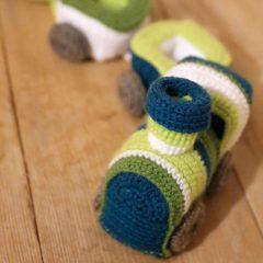 амигуруми паровозик крючком схема вязаной игрушки