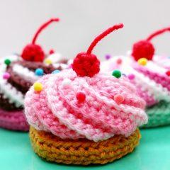 амигуруми пирожное схема