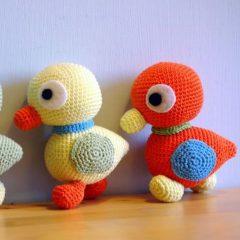 амигуруми утята схемы вязаных игрушек