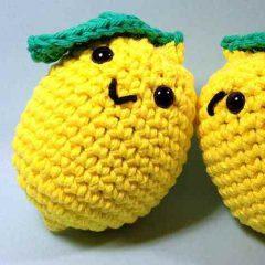 лимон амигуруми крючком схема игрушки