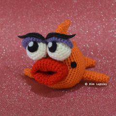 рыбка амигуруми крючком схема игрушки