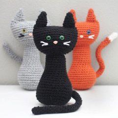 кошки амигуруми крючком схемы вязаных игрушек