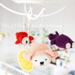 летающие мишки амигуруми крючком схемы игрушек