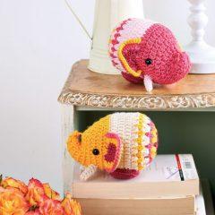 Слон крючком схема вязаной игрушки амигуруми