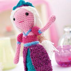 амигуруми кукла принцесса схема вязаной игрушки крючком