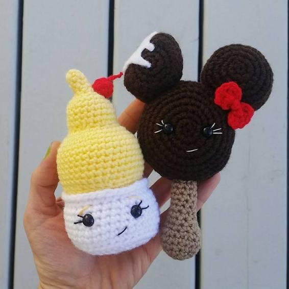 мороженое амигуруми схемы вязания Handcraft Studio Medium