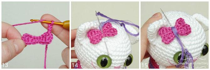 Котята амигуруми схемы вязания игрушек крючком, мастер класс