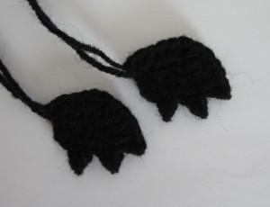 Летучая мышь амигуруми схема вязаной игрушки крючком описание