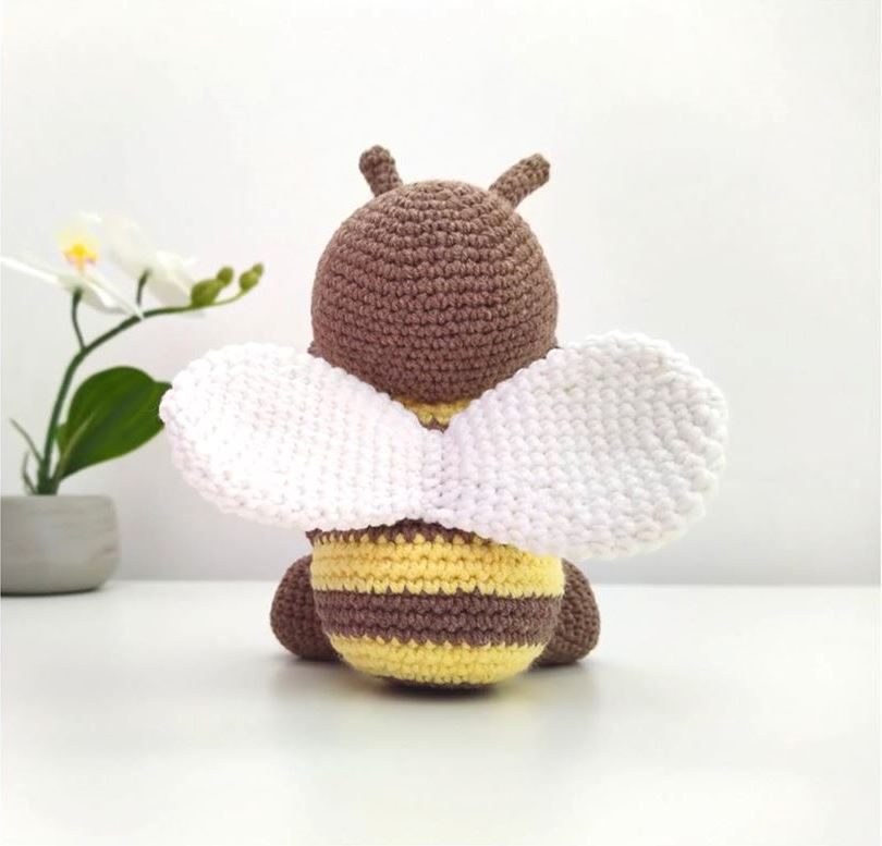 Амигуруми пчела крючком описание вязания