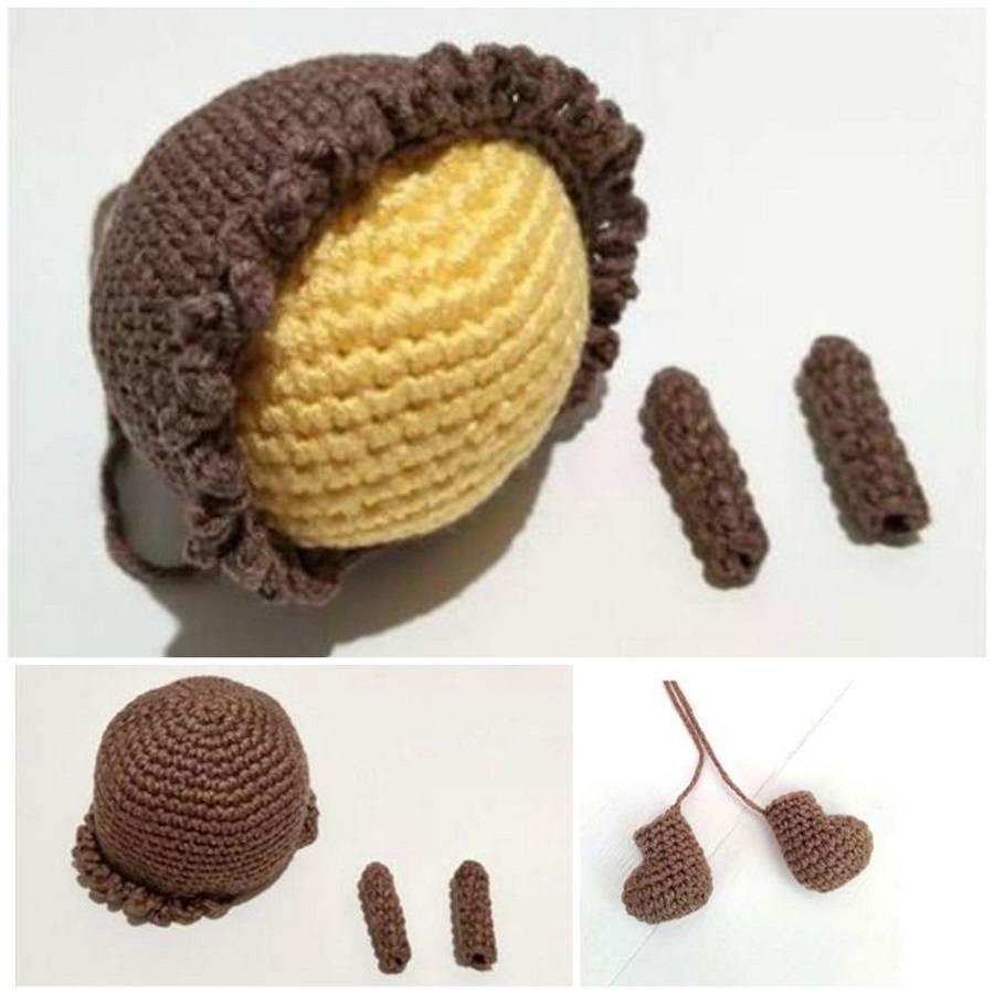 Амигуруми пчела крючком описание